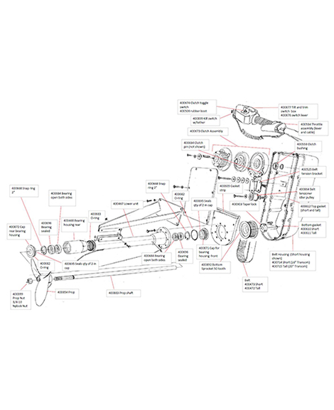 Surface Drive Motor Parts - Explore